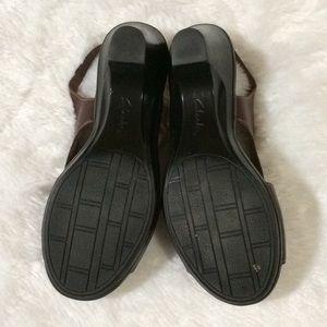 Clarks Shoes - Clark's Sandal Leather Upper